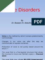 26 Voice Disorders