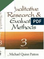 Qualitative Research Evaluation Methods by Michael Patton