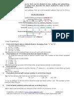 Subnetting, VLSM and Summarization