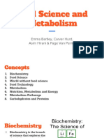 biochemistry food science and metabolism   2
