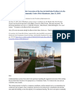 Assessment of the Possible Conversion of the Eau Du Soleil Sales Pavilion to Be Re-purposed as a Community Centre (Peter Klambauer, June 23, 2015)