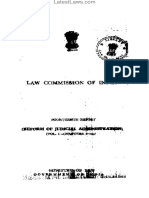 Law Commission Report No. 14- Reforms of the Judicial Administration-Vol(1),