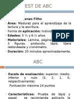 Test ABC Filho