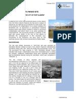 Port Alberni Plywood Site Environmental Assessement