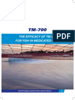 The Efficacy of TM-700 for Fish in Medicated Feed to Control Mortality c...
