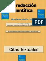 Apa Para Docentes, Ppt 14-III-16 (1) (1)