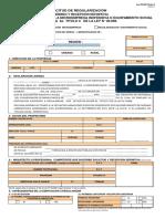 Formulario Ley 20898 Para Microempresas