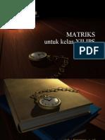 Matriks Kelas Xii Ips