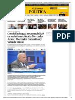 Comisión Bagua Responsabilizó en Su Informe Final a Mercedes Aráoz, Mercedes Cabanillas y Yehude Simon _ Gobierno _ Política _ El Comercio Peru