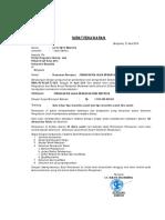 Surat Penawaran Jl. Sri Bangun