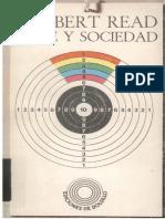 Arte y Sociedad - Herbert Read