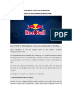 Innovacion de Procesos de Red Bull