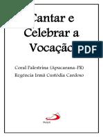 Cantar e Celebrar a Vocação