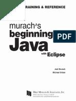 Joel Murach, Michael Urban-Murach's Beginning Java With Eclipse-Mike Murach & Associates (2015)