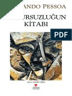 Huzursuzlugun Kitabi - Fernando Pessoa.epub