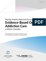 Improved Access Opioid Addiction Care BC