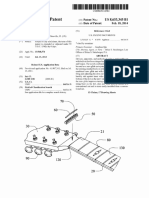 """US Patent 8,653,345, entitled """"Replaceable nut"""", issued  2014."""