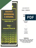 Calculo Diferencial e Integral. Schaum