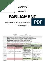 u2 - parliament