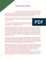 Qué caso tiene orarle a un Dios soberano.pdf