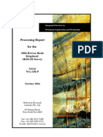 Processing Report