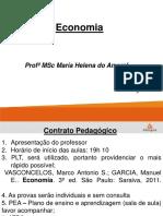 Aula 1 e 2- Introduçao a Economia
