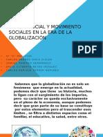Cambio Social y Movimiento Sociales en La Era