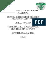 Termodinamica 3er Parcial