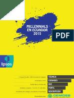Los Millennials Ecuatorianos by Ipsos