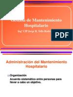 Gestion Mantenimiento Hospitalario 2015
