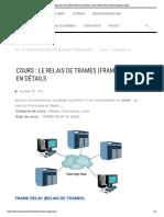 Cours  Le relais de trames (Frame Relay) en détails _ Cours et Formations Informatiques en ligne !