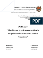 Proiect Social Cuşmirca