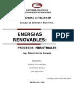 Informe de Energía Solar Térmica
