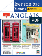 Anglais Terminale, séries ES, L, S