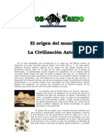 Cosmogonia Azteca