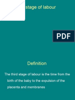3rd Stage of Labour