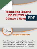 06- Epístolas Paulinas-Gálatas e Romanos