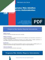 Nanet Gonzalez- Más Adultos Mayores Autovalentes