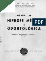 Osmard Andrade Faria - Manual de Hipnose Médica e Odontológica