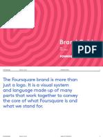 Foursquare Brandguide