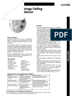 UTF-8'Es-mx'Data Sheet - Multi-Technology Ceiling Sensor (OSC05-M%2C OSC10-M%2C OSC20-M)