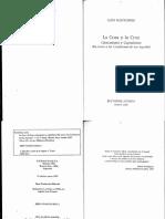Rozitchner, León-La Cosa y La Cruz. Cristianismo y Capitalismo (en Torno a Las Confesiones de San Agustín).Ed. Losada-1997