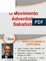 04 Movimento Sabatista