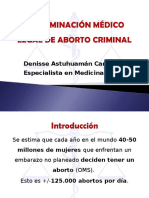 aborto medicina legal