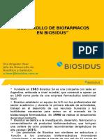 Desarrollo de Biofarmacos en Biosidus
