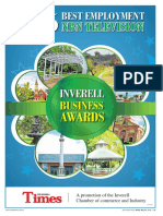 Inverell Chamber of Commerce Business Awards, 2016