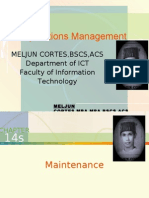 MELJUN CORTES - Operations Management 14th - 14a Lecture (MAINTENANCE)