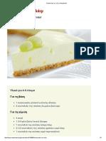 Cheesecake Με Λάιμ _ Newsbeast