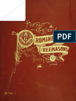 A Portrait Gallery of Prominent Freemasons, Vol.1 (1892)