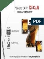 Teaser LV 125 CuM fo CAT 7777